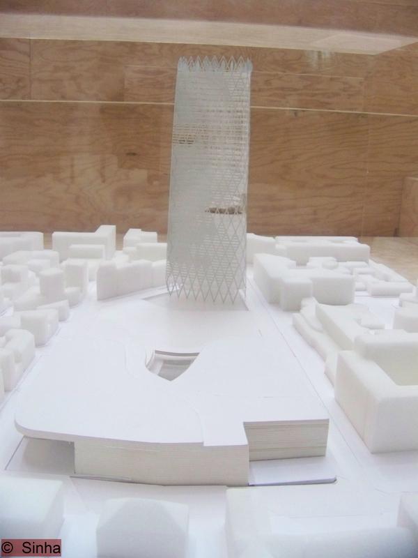 marquette de la tour