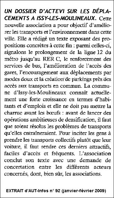 AUT Infos n°92