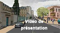 Vidéo pour l'aménagement d'une promenade au Coeur de Ville